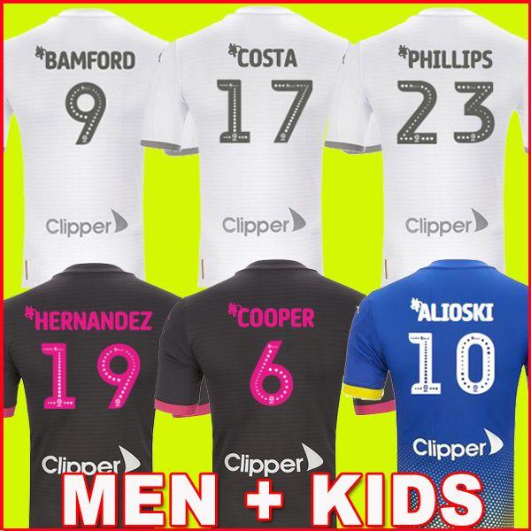 19 20 Leeds United soccer jersey COSTA PHILLIPS Celebrates Centenary 2019 2020 BAMFORD CLARKE ROOFE ALIOSKI BOY Kids kit football shirt