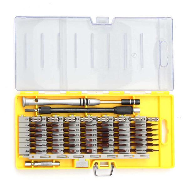 60 em 1 Precisão Chave De Fenda Kit de Ferramentas Conjunto Magnético para Tablet Telefone Celular Manutenção de Reparo Compacto Com ferramenta de rebarbação Caso