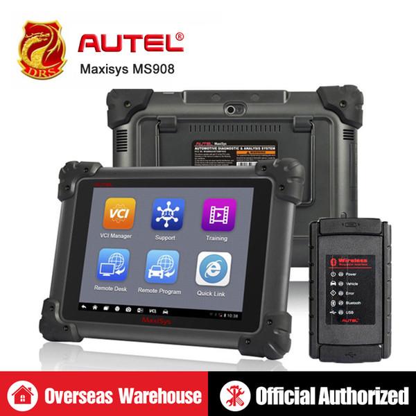 Autel Maxisys MS908 OBD2 Scanner Key Programmer Automotive Tools ECU Coding  OBD OBDII Diagnostic Tool Auto Diagnostic Scanner Diagnostic In Automotive