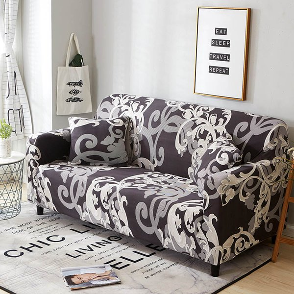 Superb Elastic Spandex Sofa Cover Tight Wrap All Inclusive Couch Covers For Living Room Sectional Sofa Cover Love Seat Patio Furniture Living Room Seat Bralicious Painted Fabric Chair Ideas Braliciousco