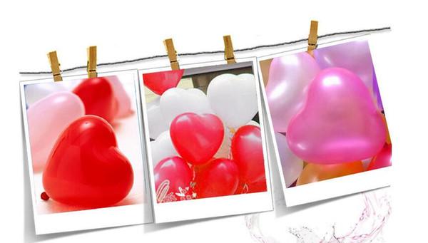 Ultra-Low-Cost-Großhandel erweitert Hochzeit liefert Liebe Ballon Hochzeit Raumdekoration herzförmigen Geburtstag Ballon Ausdruck Atmosphäre