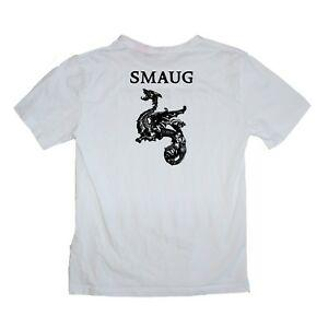 Smaug The Hobbit Lord of the Rings Gandalf Dragon Shirt Sizes S-XXXL Many Colour