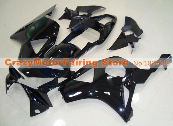 Новый комплект обтекателей мотоцикла для впрыска ABS для HONDA CBR 954RR 954 2002 2003 CBR954RR 02 03 Комплект обтекателей CBR 900RR на заказ черный цвет