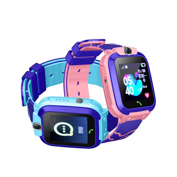 smart watch Compatible with IOS and Andriod to remind messages depth waterproof SOS take photo call for childerns
