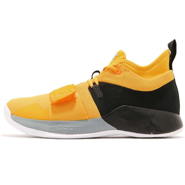 the latest 7c8e7 a8602 New PG 2.5 EP Paul George Basketball Shoes Moon Exploration Amarillo Yellow  Men Shoes BQ8453 700 For Sale With Box Women Basketball Shoes Men ...