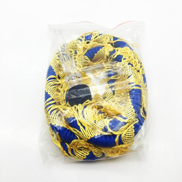 Auspicious Dragon Design 1.5m Rubber Plastic Hookah Shisha Hose Pipe Shisha Accessoris For Shisha With Glass Mouthpiece