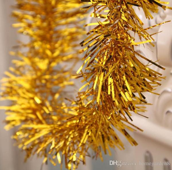 Weihnachtsbaumschmuck Farbstreifen Weihnachtsschmuck Farbstreifen Blumenornament Weihnachtsfarbstreifen multicolor Größe 180cm