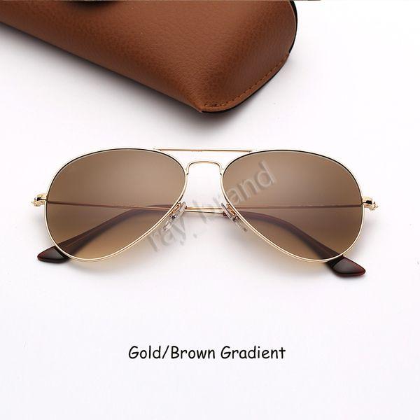 Gold-Brauner Verlauf