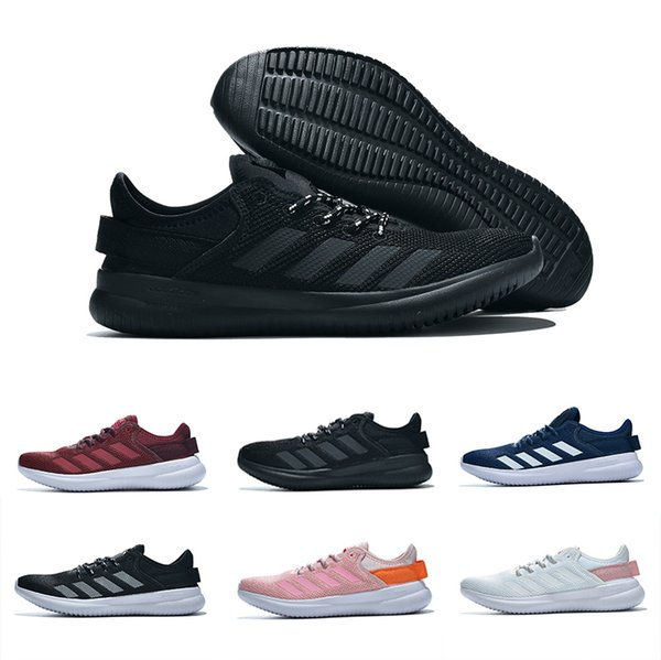 2019 Black NEO cloudfoam PURE Casual Running Shoes for High quality Black Grey Pink Men Women Casual Training sports Sneakers 35-44