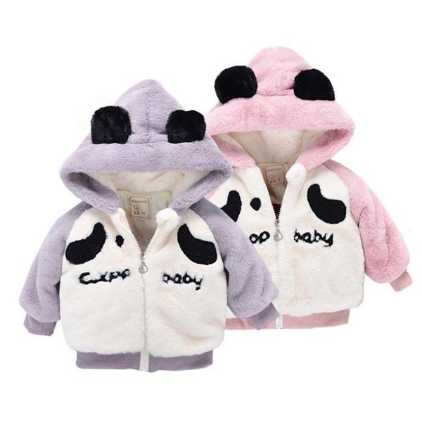 Hooded Newborn Baby Coat Warm Winter Jacket for Newborn Cotton Warm Winter Baby Coat for Boys and Girls 6-24 Months
