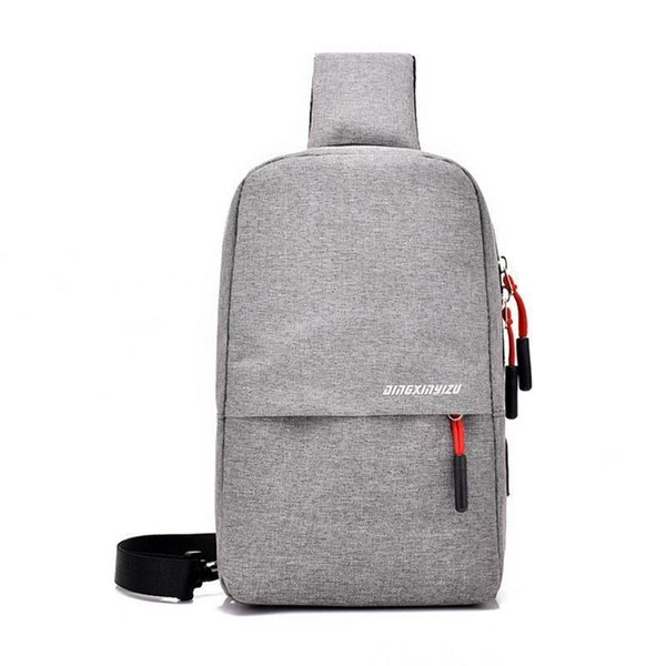 Chest Shoulder Bag Fashion New Canvas Crossbody Chest Bags For Women Men Male Outdoor Riding Small Bag Waterproof Purse Pocket