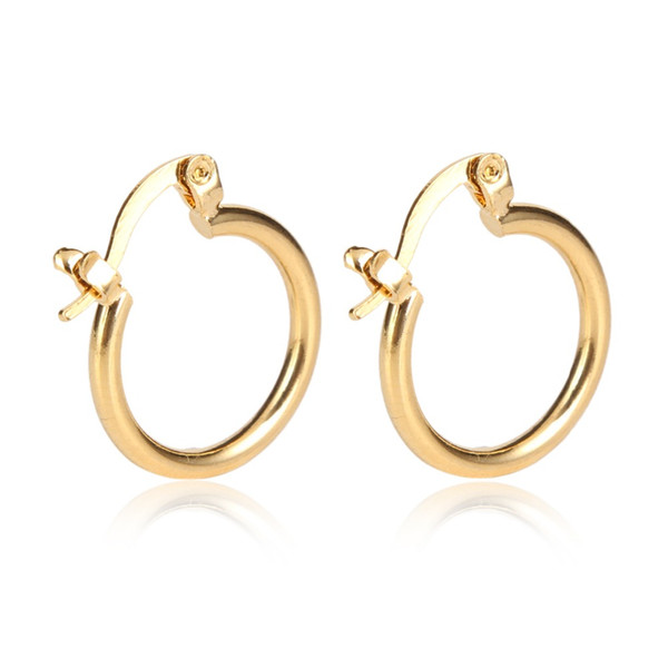 24K Gold Earrings New Arrival New Model High Quality Pretty Golden Jewelry Earrings