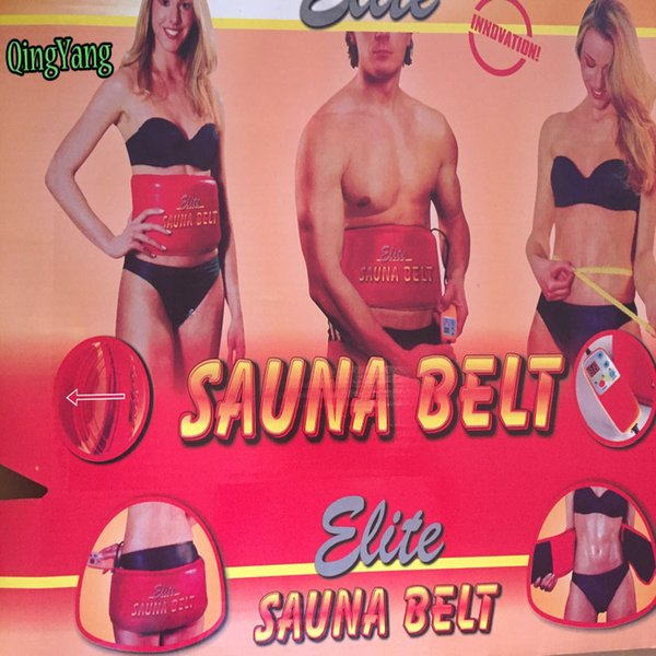 Sauna Belts.Heating Slimming Belt.Health Care Waist Body Tummy Sauna Belt For Weight Loss Fat Burning Tool Y181122