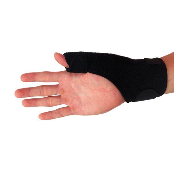 Ourpgone Brand Elastic Thumb Wrap Hand Palm Wrist Brace Splint Support Arthritis Pain Sport Training Thumb Fitted Correction #288829