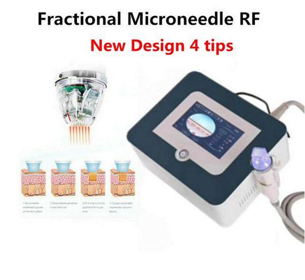 Fraccional de RF de Microneedle Piel 2019 NUEVA llegada rejuvenecimiento arrugas eliminación máquina Estrías Anti Aging salón de belleza spa de dispositivos