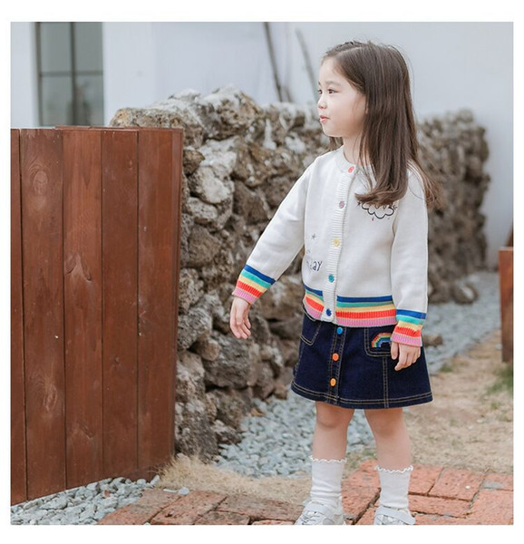 A baby rainbow dress for children is ready for release in the new Korean fashion version of 2019