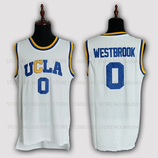 lowest price 6298a 3482e 2019 Cheap Russell Westbrook Basketball Jersey 0 UCLA Bruins College Retro  Uniforms Stitched Embroidery High Quality Shirt From Huangshijie00, $30.56  ...