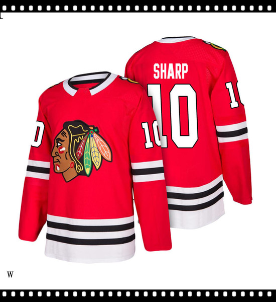 Tamaño 2019 2020 jerseys del hockey de secado rápido del rojo azul bordado Logos hombres libres del envío al por mayor baratos Jersey462