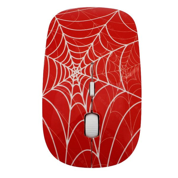 Hot Sale 1000DPI 2.4GHz Optical Wireless Mouse Laptop Ultra-thin Spider Optical Mice USB For Wireless PC Windows Linux Mouse
