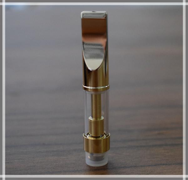 Seramik bobin cam Kartuşları S3 vape kalem altın kartuşları CE3 Tomurcuk yağ buharlaştırıcı 92A3 tankı metal ucu tasarruf yağ kartuşları