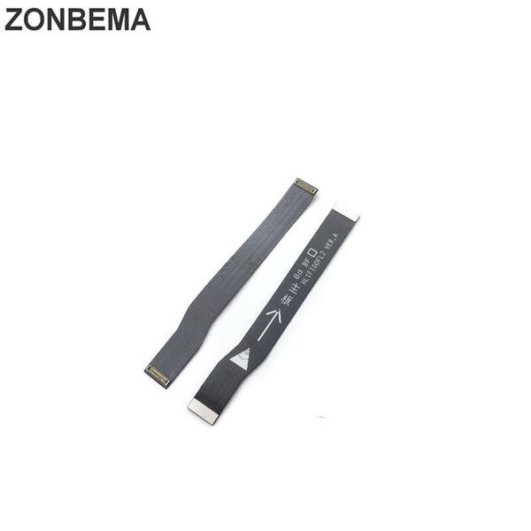 ZONBEMA Original Novo Main Board Motherboard Conector Flex Cable Para Huawei Desfrutar de 7 S P Conector de LCD Inteligente