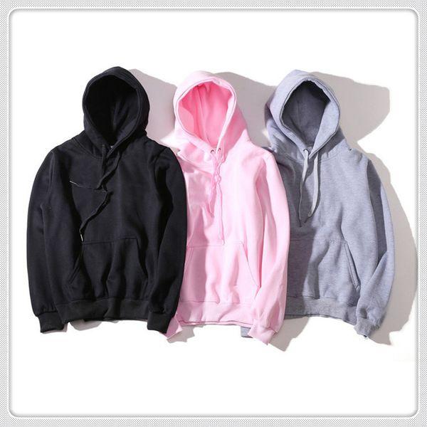 2019 Mens Branded Hoodie Licht Fleece Sweatshirts Mode Gedruckt Mit Kapuze Pullover 6 Farben Street Style Mens Sportswear EF08