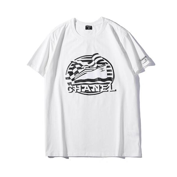 402#, new short sleeve, foam mixed print, couple short sleeve, round neck T-shirt. Men's...