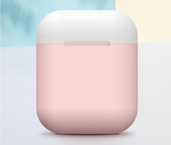 Capa ultrafina para airpods case capa protetora de silicone suave para airpods Caixa de carregamento tpu case acrobacia para apple airpods