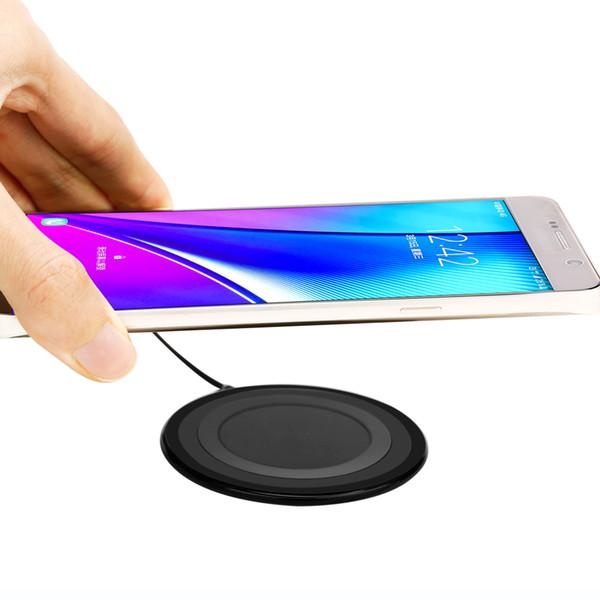 Ultra-Ince Düşük Sıcaklık Güvenliği QI Kablosuz Yuvarlak Hızlı Şarj Şarj Kurulu Kablosuz Şarj Hafif Kablosuz Şarj
