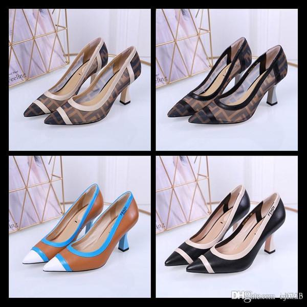 3d586e9e3d6 Newst Designers Calfskin Women Catwalk Kitten Heels Pumps Slingbacks Sandals  Mules Flats Beige Grey Dress Wedding