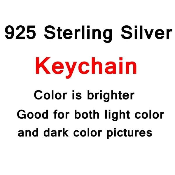 Silber Schlüsselanhänger