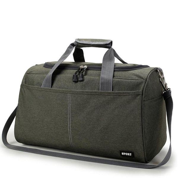 Short Distance Travel Bag Nylon Gym Women Girls Shoulder Bag Large Capacity Luggage Sports Training Package Separation Gym