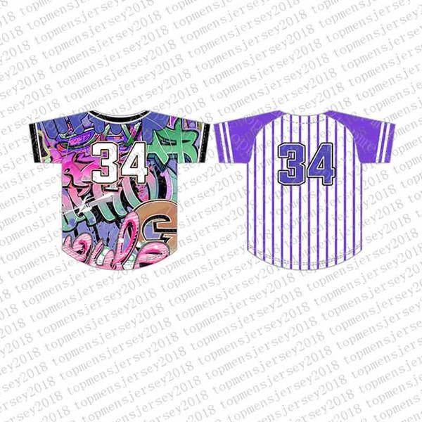 Top del camisetas de béisbol para hombre bordado Logos Jersey envío libre al por mayor barato Cualquier nombre de cualquier número tamaño M-XXL 49