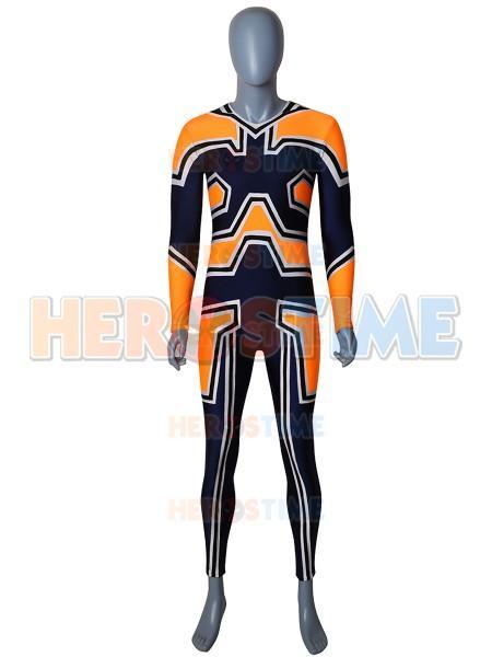 My Hero Academia Enji Todoroki Cosplay Costume Spandex anime superhero zentai bodysuit halloween jumpsuit for adult kids