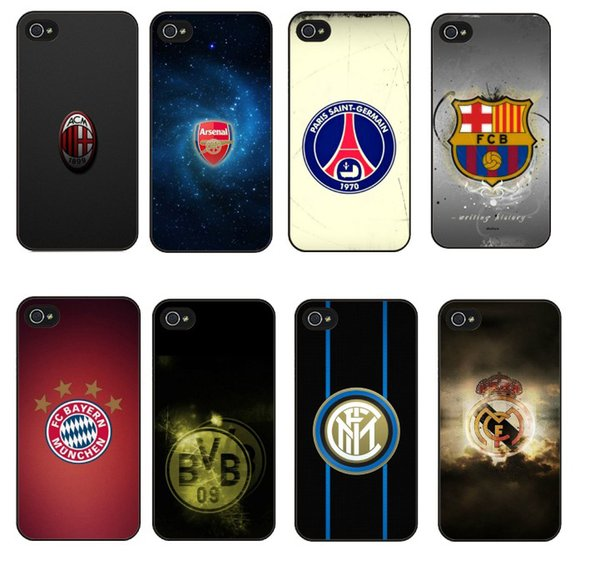 2019 Football Style Fashion Phone Case for IphoneXSMAX XR XS/X Iphone 7P/8Plus 7/8 6P/6sPlus 6/6s Famous Europe FC Style Phone Case 12 Style