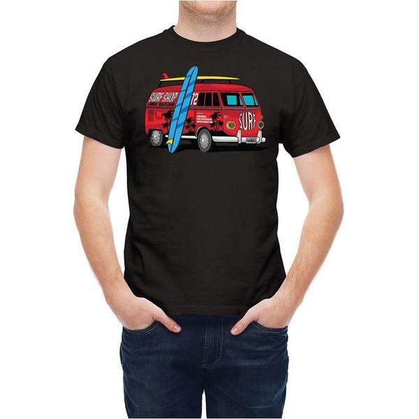 Camiseta Vacaciones Viajes Surfer Vehículo Van T25732