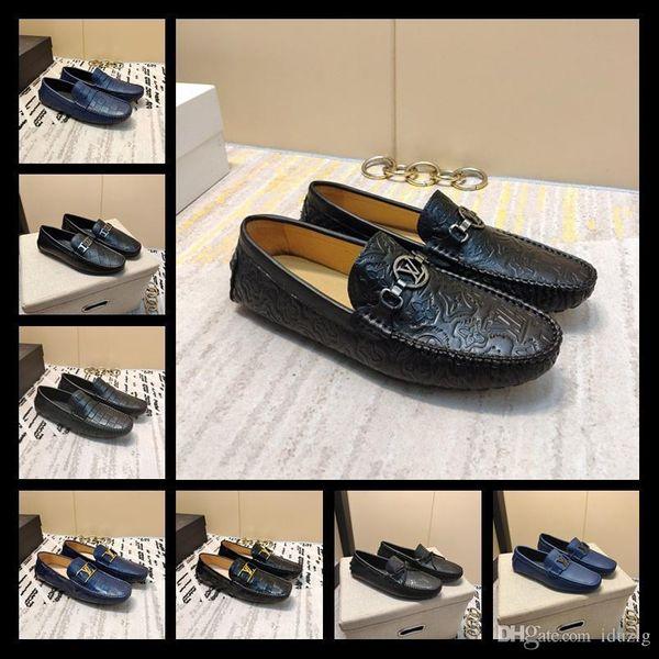 men denim intrecciato calf slipper designer brand loafer cheap luxury moccasin comfortable high quality with original box