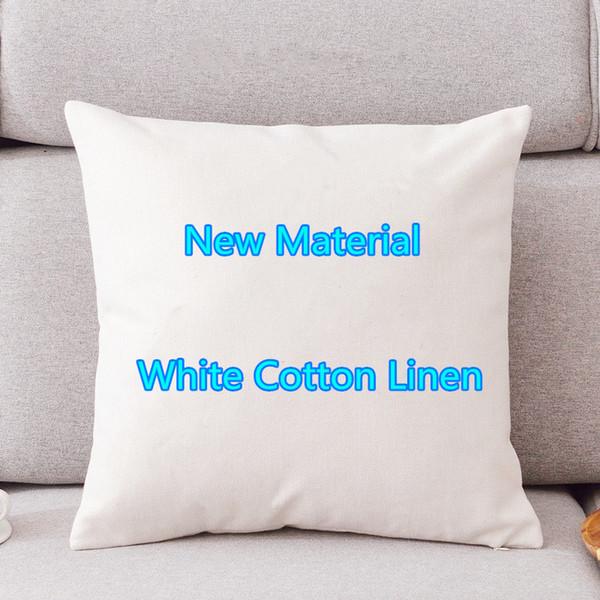 Personnaliser coton blanc Encrypted lin oreiller Couvertures Cartoon Printemps Automne Minimaliste géométrique de Noël Amazon Explosion Pillowcase18