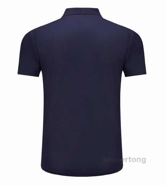 # T2022000123 New Hot vente de haute qualité à séchage rapide Polo T-shirt peut être personnalisé avec imprimé Nom et numéro de modèle de football CM