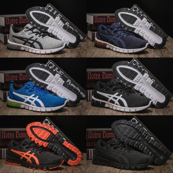 Best Quality Asics Gel-Quantum 90 Mens Running Shoes Balck Orange Men Women Designer Shoes Sport Sneaker EUR 40-45