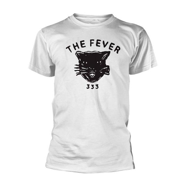 La Fiebre 333 'taza del gato' camiseta - NUEVO para hombre al por mayor de 2019 Impreso de moda Marca 100% algodón cuello redondo camisetas barato