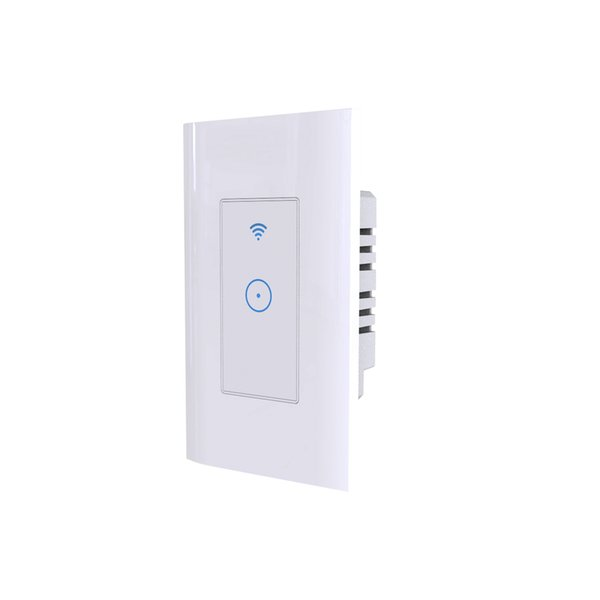 Controle WIFI LED toque interruptor