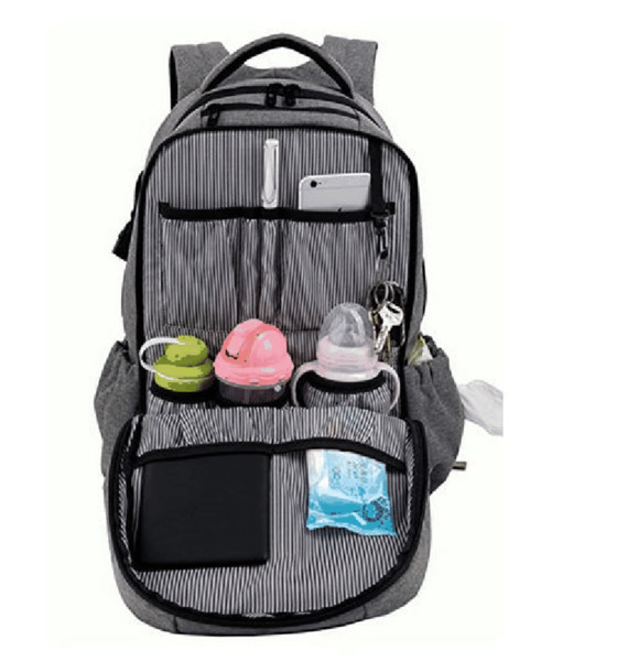 2019 Large Capacity Waterproof Nappy Bag Baby Bag For Mommy Multipurpose Maternity Changing Baby Carriage Backpack