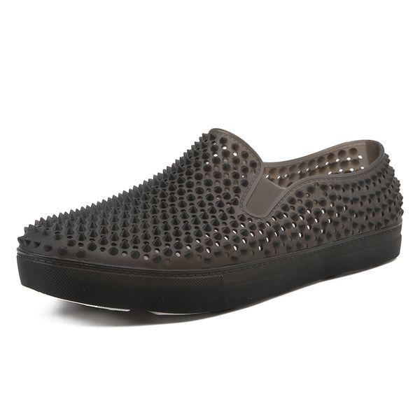 Spiaggia di estate sandali piani degli uomini comodi antiscivolo scarpe da trekking giornalieri Casual Shoes Mocassini traspiranti