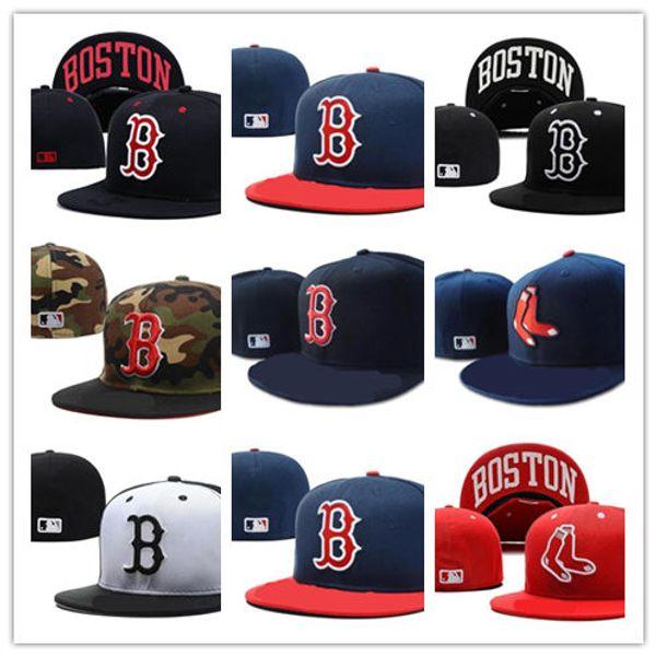 Newest Hot Sales Boston Bruins Baseball Snapbacks Baseball Cap Embroidered Team logo Cap Sport Fitted Hats