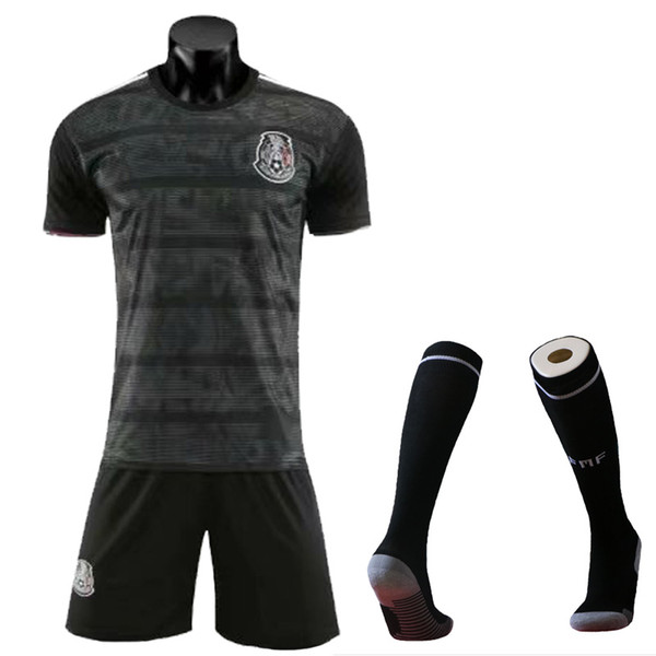 Black With Socks