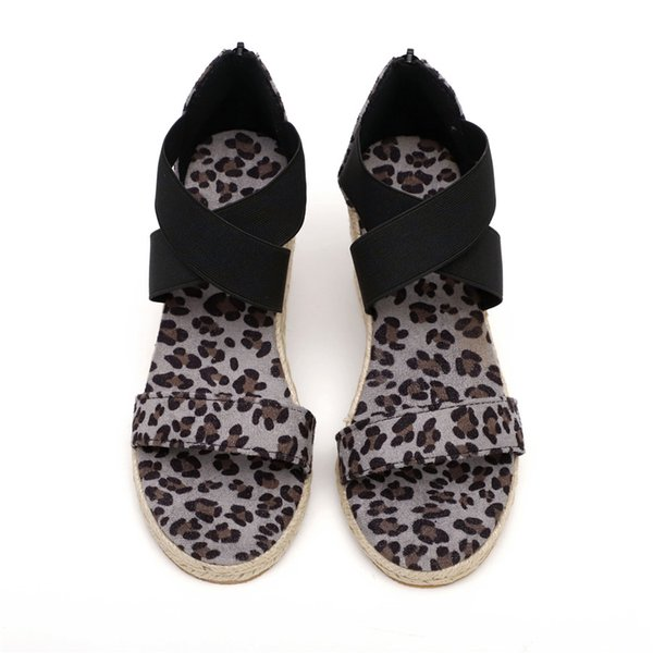 Leopard Print Gray