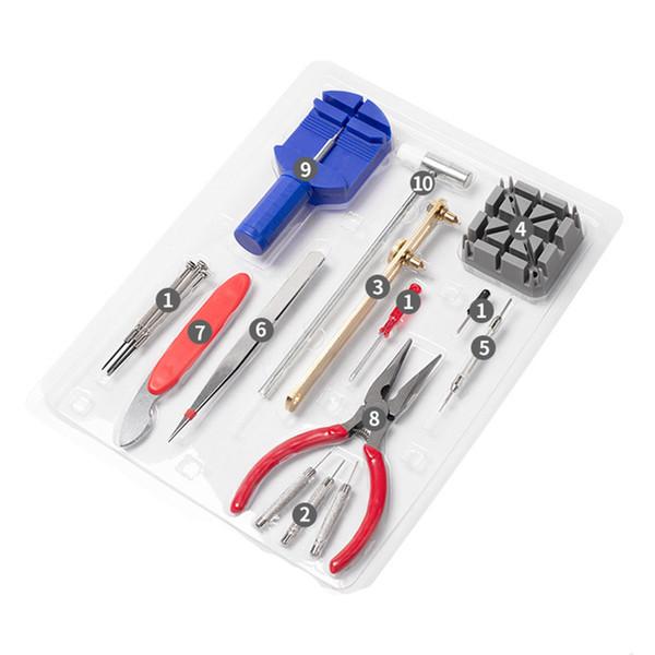 16Pcs Watch Repair Tool Set Watch Opener Remover Spring Bar Repair Pry Screwdriver Clock Watchmaker Tools Tool Kit