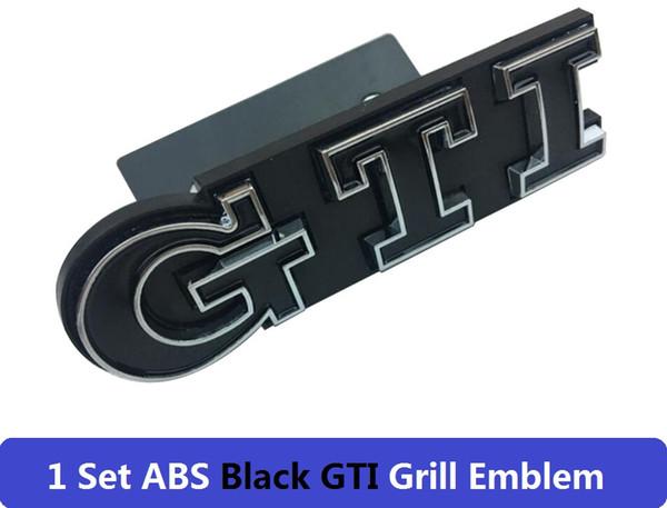 GTI negro para parrillas