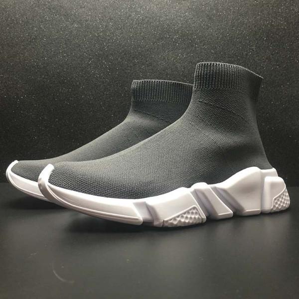 Designer Speed Fashion Herren- und Damensocken Stiefel Schwarz Weiß Blau Rot Pailletten Flache Herren Sneakers Sneakers Laufen Lässige Schuhe